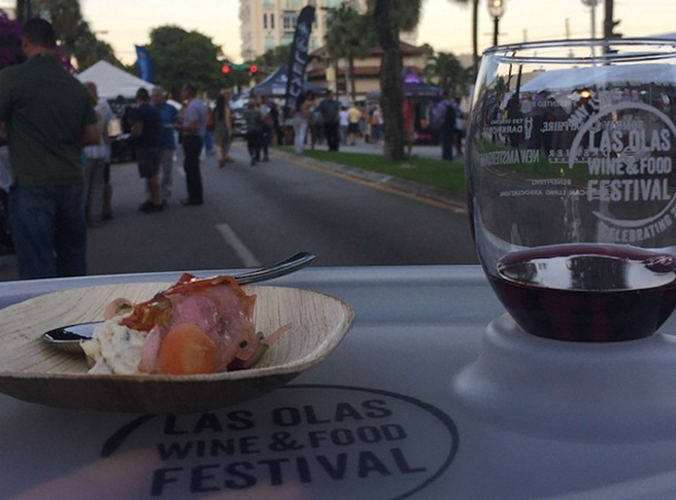 The Las Olas Wine  Food Festival returns this Friday, April 29, to downtown Fort Lauderdale.