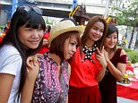 Tourism boom: More Chinese travellers than ever before are visiting Thai cities such as Chiang Mai