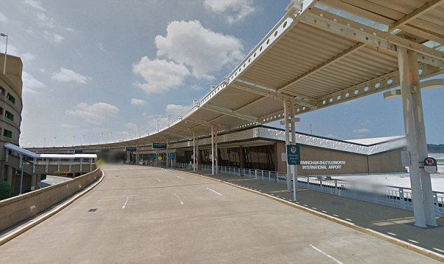 Wrong airport: In fact, the couple had booked flights from Birmingham Alabama Airport (pictured)