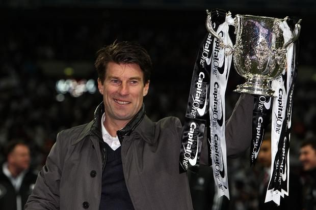 LIFTED ... Laudrup has taken Swansea to a new level