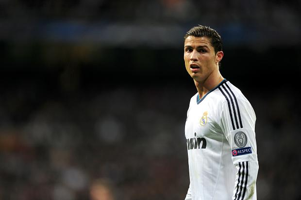 KNOCKOUT BLOW ... Ronaldo helped knock his former club out of the Champions league