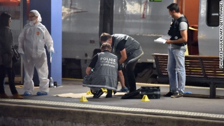 Train attack thwarted in France