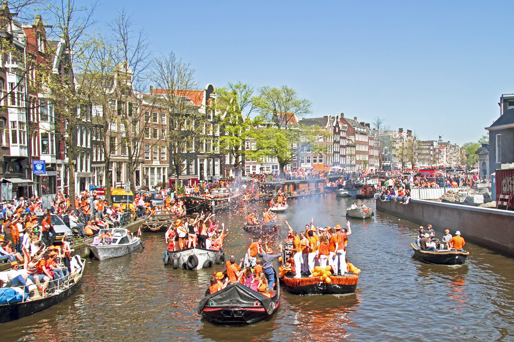 King's Day boats