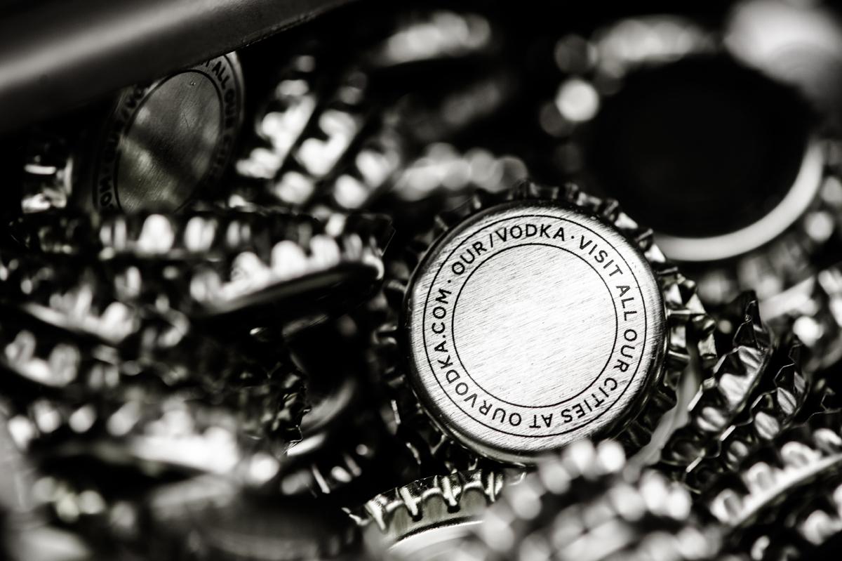Our/London bottle caps