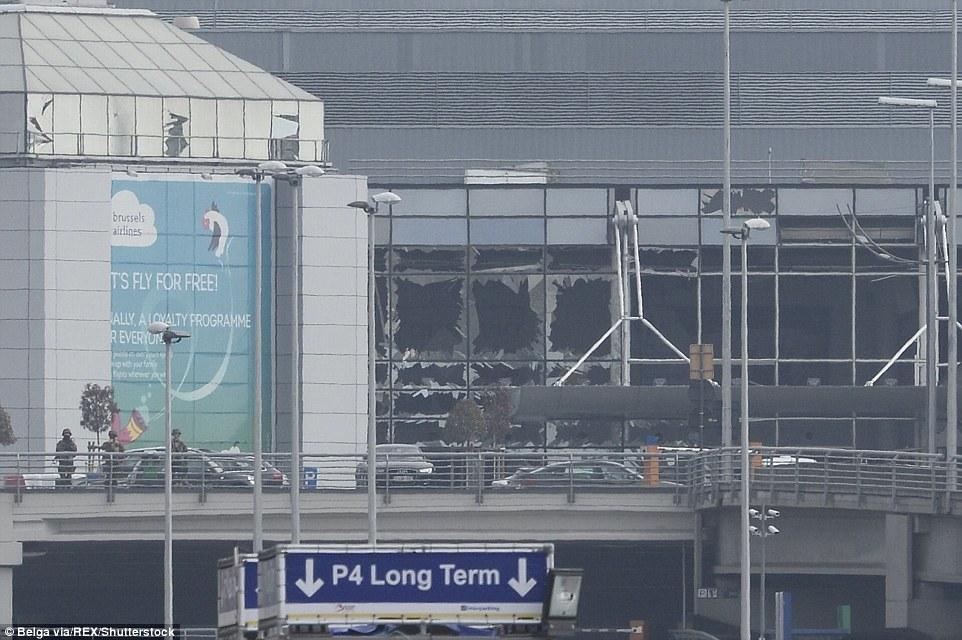 Mandatory Credit: Photo by Philippe Francois/Belga via/REX/Shutterstock (5617781al)Explosions at Brussels Airport in ZaventemExplosions in Brussels, Belgium - 22 Mar 2016