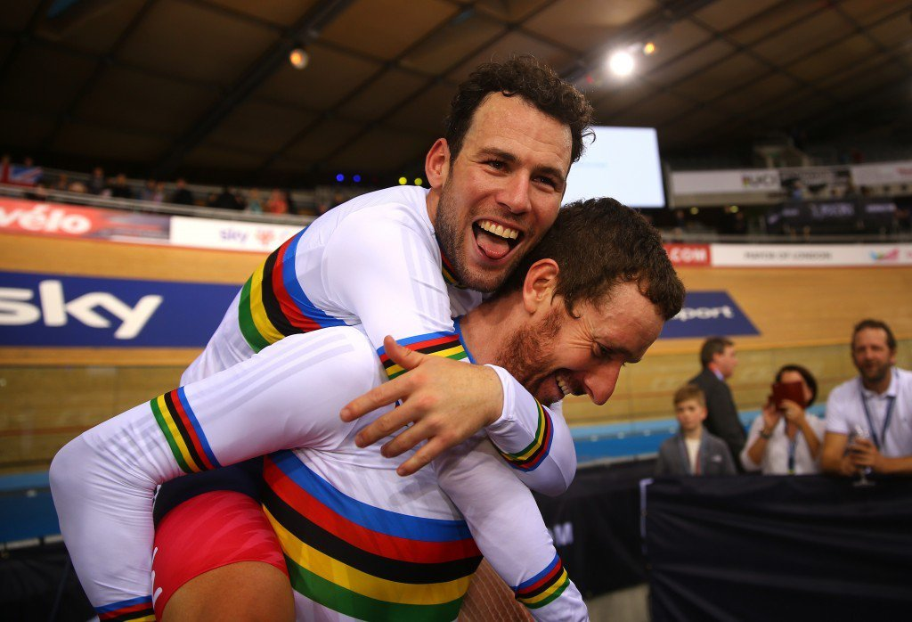 Reigning world madison champions Mark Cavendish and Sir Bradley Wiggins are due to compete in London ©Getty Images