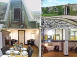 Cambridge LodgenA couple have transformed an old disused concrete water tank into luxurious holiday home