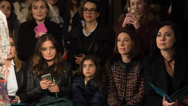 Spotted: the 'froe' (front row) during Vogue Fashion's Night Out in Melbourne last year. Photo by Kristian Dowling/Getty Images for VFNO
