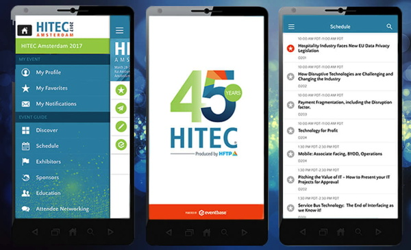 Screenshots - HITEC App